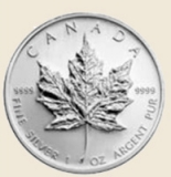 Silber Maple Leaf 1 oz x 500