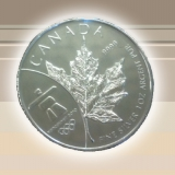 Silber Maple Leaf 1 oz (Vancouver)