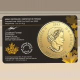 Maple Leaf 1 oz Call of the Wild - Roaring Grizzly