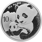 Silber China Panda 30 gr 2019