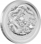 Silver Lunar II Dragon - 5 oz